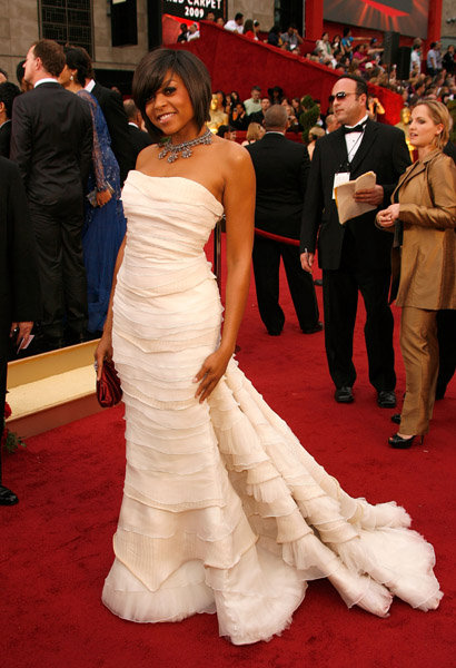 Actress Taraji P. Henson arrives at the 81st Annual Academy Awards held at The Kodak Theatre on February 22, 2009 in Hollywood, California.